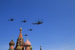 [VIDEO] Không quân Nga tập luyện chuẩn bị cho lễ kỷ niệm Ngày chiến thắng