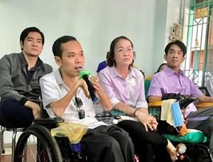Tạo điều kiện để người khuyết tật tiếp cận các hoạt động văn hóa, TDTT, đi lại