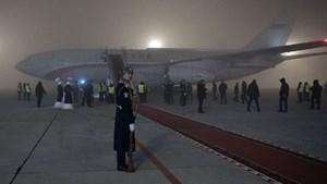 [VIDEO] Chuyên cơ của ông Putin hạ cánh ngoạn mục trong sương mù dày đặc