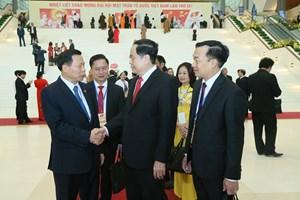 [ẢNH] Lãnh đạo Đảng, Nhà nước dự Khai mạc Đại hội toàn quốc MTTQ Việt Nam lần thứ IX
