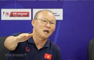 HLV Park lên tiếng đáp trả việc HLV Thái Lan nói Việt Nam 'chơi xấu'