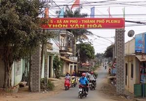 Gia Lai: 27 xã đăng ký phấn đấu đạt chuẩn nông thôn mới