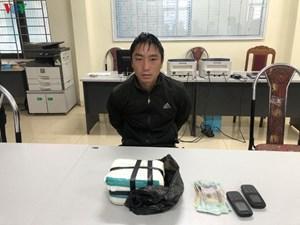 Sơn La: Bắt đối tượng vận chuyển trái phép 2 kg ma túy tổng hợp