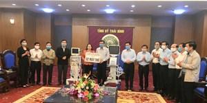 Thái Bình: Tiếp nhận 2 máy thở phục vụ phòng chống dịch Covid-19