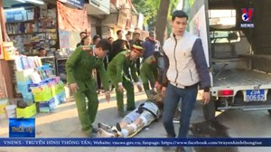 Hà Nội: Dùng súng tự chế bắn người tại ngõ Phan Huy Chú