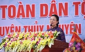 BẢN TIN MẶT TRẬN: Ngày hội Đại đoàn kết xã Thủy Đường, huyện Thủy Nguyên, Thành phố Hải Phòng