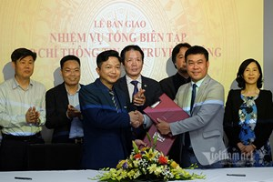 Nhà báo Nguyễn Bá chính thức nhận nhiệm vụ Tổng biên tập Tạp chí Thông tin và Truyền thông