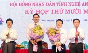 Nghệ An bầu bổ sung 2 Phó Chủ tịch UBND tỉnh