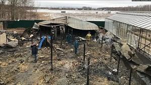 Khẩn trương xác nhận quốc tịch nạn nhân trong vụ cháy tại Nga
