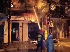 Hà Nội: Cháy lớn trong đêm tại khu đô thị Xa La, 4 người may mắn thoát nạn