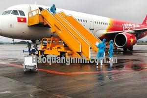 Sân bay Vân Đồn đón 229 hành khách về từ Hàn Quốc