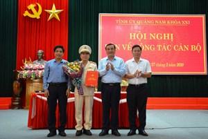 Tướng Nguyễn Đức Dũng được chuẩn y Thường vụ Tỉnh ủy Quảng Nam