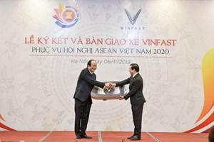 Tại ASEAN 2020, các đại biểu sẽ di chuyển bằng xe VinFast
