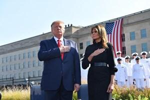 [ẢNH] Mỹ tưởng niệm 18 năm vụ tấn công khủng bố ngày 11/9