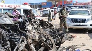Somalia: Bom xe phát nổ gần Quốc hội Somalia ở thủ đô Mogadishu