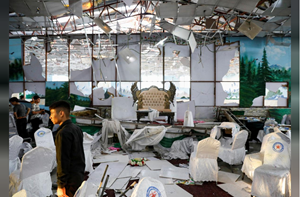 Afghanistan: Đánh bom trong đám cưới, hơn 240 người thương vong