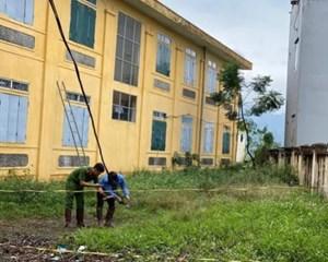 Khẩn trương rà soát hệ thống điện trong khu vực trường học