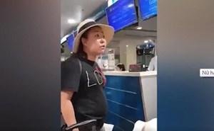 Tạm đình chỉ công tác 30 ngày đối với nữ Đại úy Công an lăng mạ nhân viên sân bay