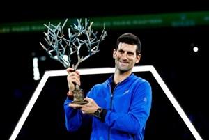 Novak Djokovic lần thứ năm vô địch Paris Masters