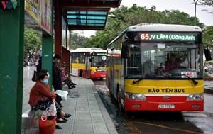 Hà Nội: Xe buýt chỉ được chở 30 người trên xe cùng một thời điểm