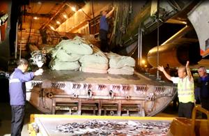 Hàng cứu trợ của Nga được phân bổ đến Khánh hòa, Phú Yên