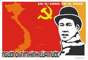 Trao giải thưởng tranh cổ động tuyên truyền Ngày sinh Chủ tịch Hồ Chí Minh