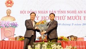 Nguyên Thứ trưởng Bộ KH-ĐT được bầu giữ chức Chủ tịch tỉnh Nghệ An