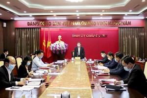 Bí thư Tỉnh ủy Quảng Ninh: Cả hệ thống chính trị không được chủ quan