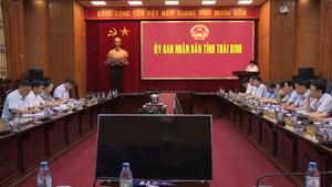 Khảo sát hoạt động khai thác, kinh doanh cát, sỏi tại Thái Bình