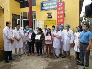 Bệnh nhân số 188 tái dương tính với SARS-CoV-2 đã âm tính trở lại