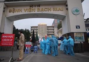 Bệnh viện Bạch Mai dừng tiếp nhận hỗ trợ để 'dành cho tuyến sau'