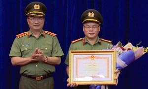 Giám đốc Công an Bắc Ninh làm Cục trưởng cảnh sát kinh tế