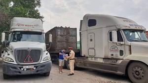 Tập trung xử lý lái xe container sử dụng ma túy