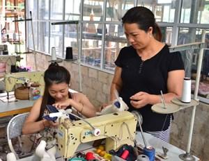 Hòa Bình: Phụ nữ giúp nhau phát triển kinh tế gia đình