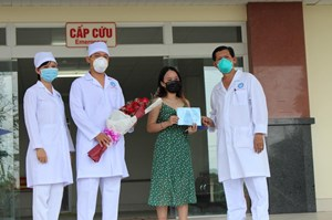 BN154 điều trị ở Cần Thơ đã khoẻ và được xuất viện