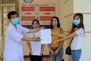 Hà Tĩnh: Thêm 2 bệnh nhân Covid-19 khỏi bệnh
