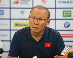 HLV Park Hang Seo: 'Đá với Thái rất khó khăn, nhưng chúng tôi đã vào bán kết'