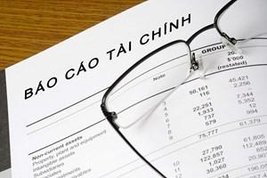 Báo cáo tài chính điện tử có cần ký tên, đóng dấu của nhà thầu?