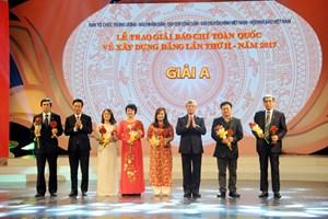 54 tác phẩm báo chí được trao giải thưởng Búa liềm vàng
