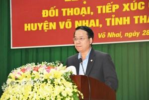 Thái Nguyên: Đối thoại trực tiếp với nhân dân