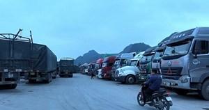 Thông quan hàng hóa: Số lượng xe hàng tồn giảm mạnh
