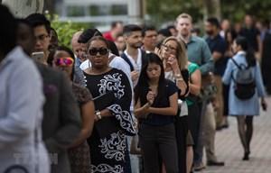 Số người xin trợ cấp thất nghiệp ở Mỹ tăng lên 36,5 triệu người