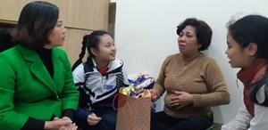 Mang Xuân yêu thương đến với hộ nghèo, gia đình chính sách