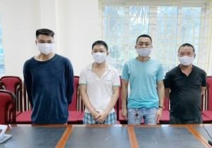 Hà Nội: Tạm giữ hình sự nhóm đối tượng hát karaoke tấn công Công an