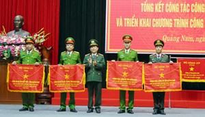 Công an tỉnh Quảng Nam tổng kết công tác năm 2019