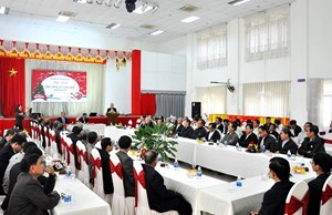 Lãnh đạo tỉnh Quảng Nam gặp mặt chúc mừng Giáng sinh
