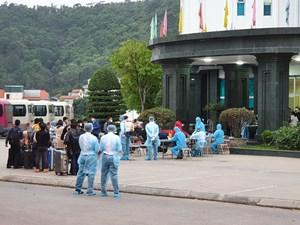 Sân bay Vân Đồn đón 195 người Việt trở về từ Nhật Bản