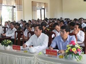 Buôn Hồ - Đắk Lắk: Tổng kết 10 năm thực hiện chương trình mục tiêu quốc gia xây dựng NTM