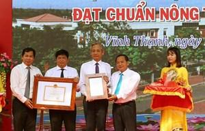 Cần Thơ: Huyện thứ 2 được công nhận đạt nông thôn mới