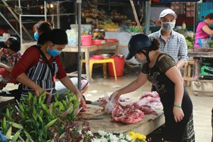 Vẫn khó kéo giảm giá thịt lợn